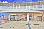 精華町への鉄道の玄関口「祝園(ほうその)駅」の駅前風景